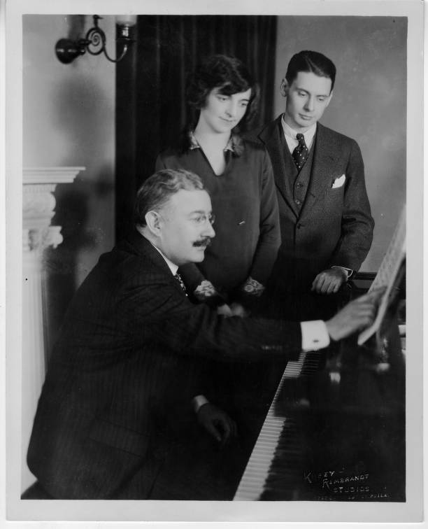 Emilio de Gogorza with Agnes Davis and Wilbur Evans
